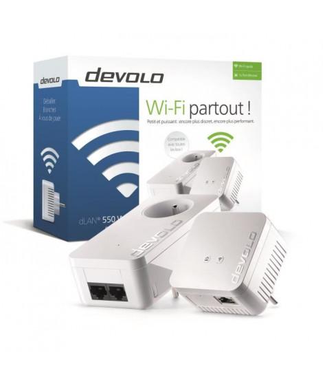 DEVOLO CPL Wi-Fi 500 Mbit/s + 1 CPL Filaire 500 Mbit/s