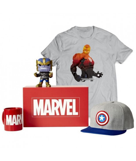 WOOTBOX Box officielle Marvel - S