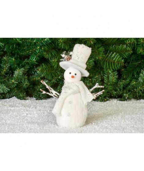 Bonhomme de neige petit modele - H27 cm
