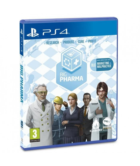 Big Pharma Jeu PS4