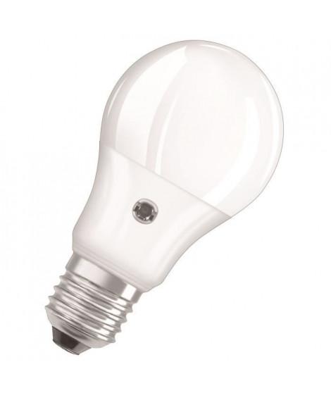 OSRAM Ampoule LED Star + Daylight Sensor E27 standard 5,5 W équivalent a 40 W blanc chaud ou froid