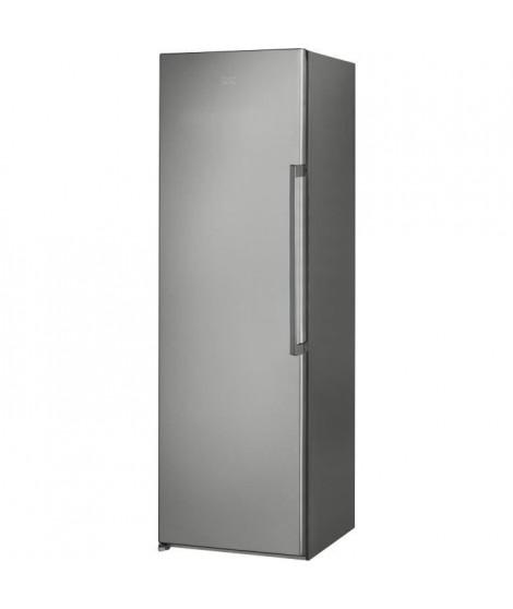 HOTPOINT UH8F1CX - Congélateur armoire - 260 L - Froid ventilé No frost - A+ - L 59,5 x H 187,5 cm - Pose libre - Inox