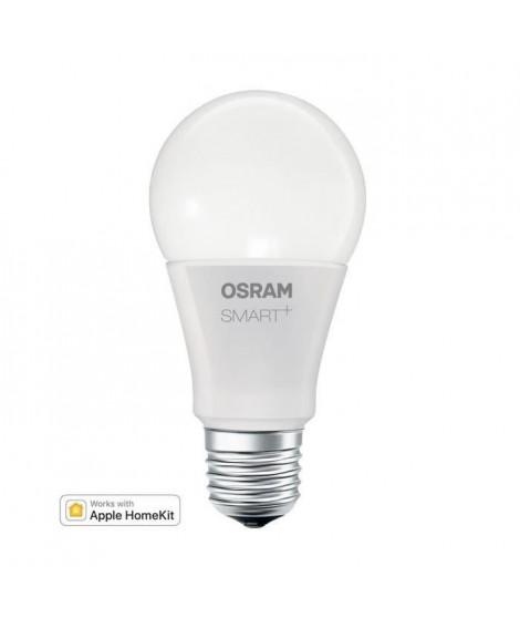 OSRAM Smart+ Ampoule LED Connectée - E27 Standard - Dimmable Blanc Chaud 9W (60W) - Compatible Bluetooth Apple HomeKit