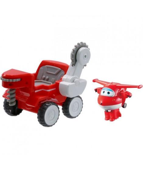 Véhicule a fonction Super Wings Jett's Moon Rover + 1 Transform-a-Bot - EU730842