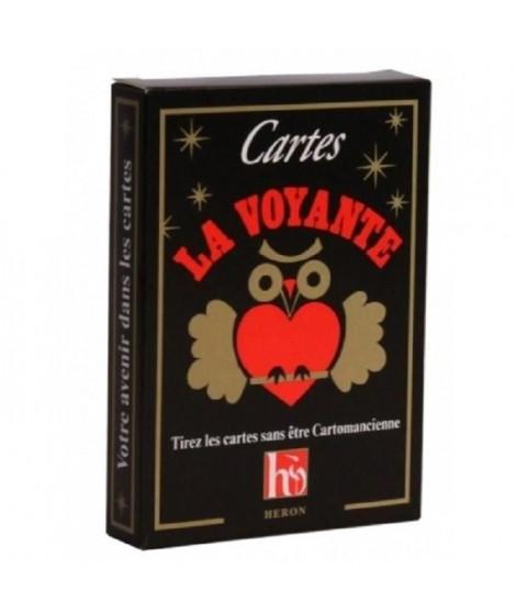 France cartes - LA VOYANTE - JEU DE 33 CARTES - FORMAT AMÉRICAIN
