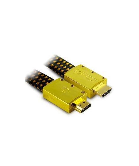 Aliencable ExtremeSeries (2 m) - Câble HDMI 2.0 a hautes performance compatible 3D, Full HD (1080p) et UltraHD 4K (2160p) (re…