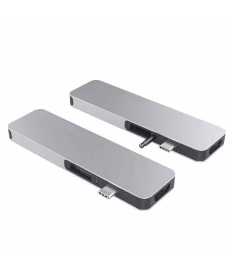 MOBILITY - HyperDrive SOLO Station d'accueil USB-C Mini DisplayPort 4K avec fonction de charge - Gris Argent
