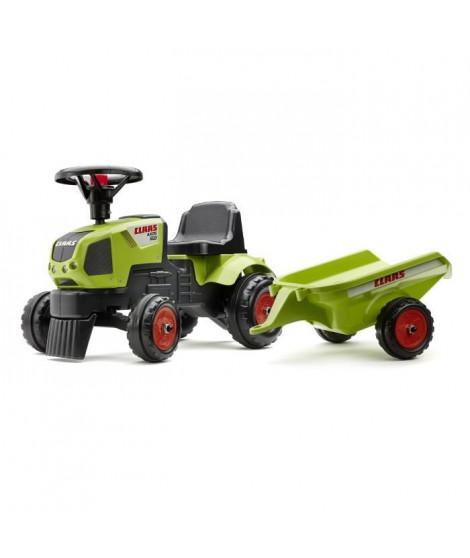 CLAAS Porteur Tracteur Baby Axos 310 avec remorque - Vert