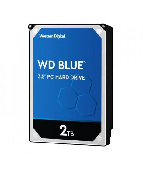 WD Blue™ - Disque dur Interne - 2To - 5 400 tr/min - 3.5 (WD20EZRZ)