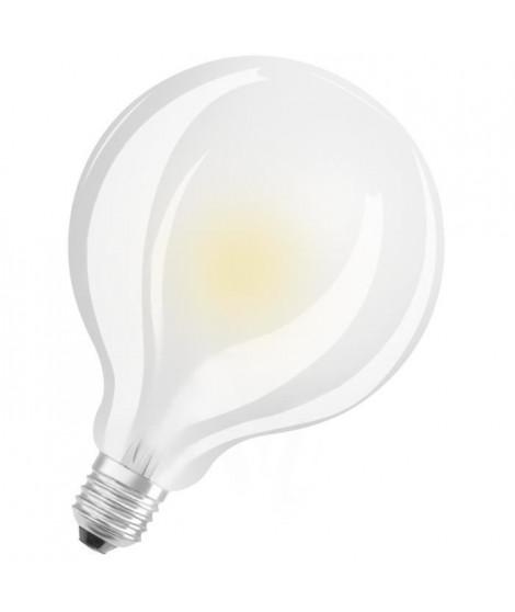 OSRAM Ampoule LED E27 globe dépolie 7 W équivalent a 60 W blanc chaud