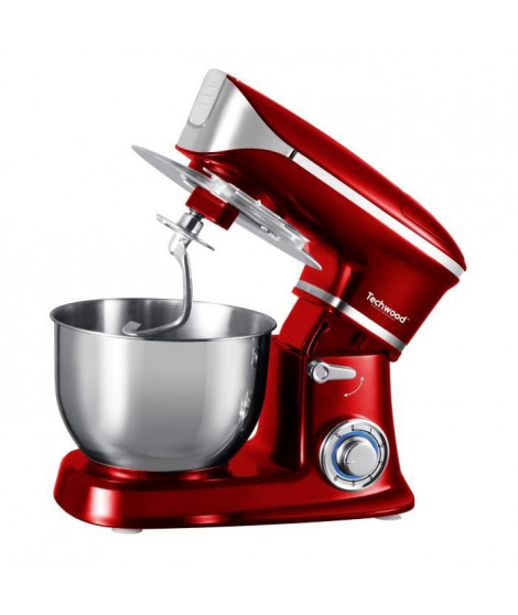 TECHWOOD TCDR-135 Robot pâtissier - Rouge