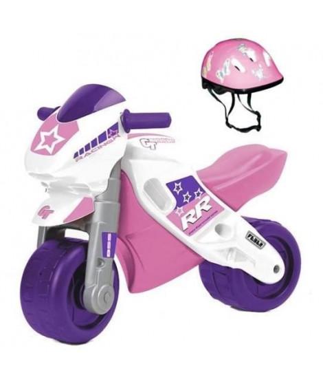 FEBER - Motofeber 2 Racing Rose avec casque - porteur -800008174