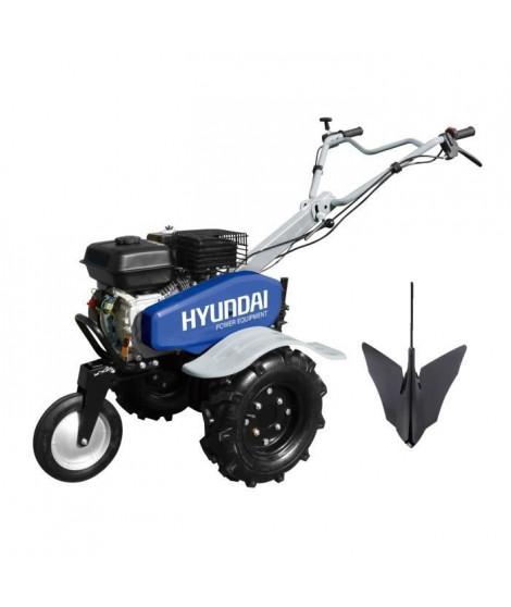 HYUNDAI Motoculteur thermique 6 fraises 100cm 196 cc 3 vitesses