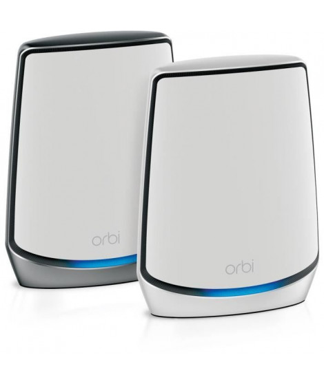 NETGEAR Orbi Systeme Wifi 6 Mesh RBK853 Tri-Band - Pack de 2 dont 1 WiFi