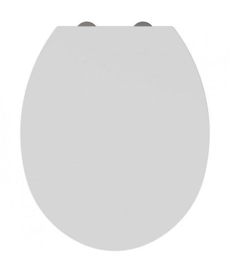 ALLIBERT Abattant de toilette frein de chute Coda - Blanc brillant
