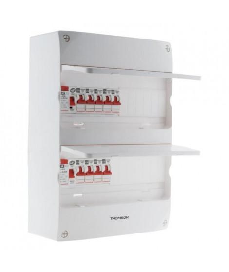 THOMSON Coffret électrique 2 rangées - 26 modules - Idéal T3