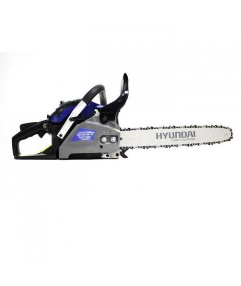 HYUNDAI - Tronçonneuse Thermique 41 cm³ - coupe 40 cm - Guide et chaîne Hyundai - HTRT4140