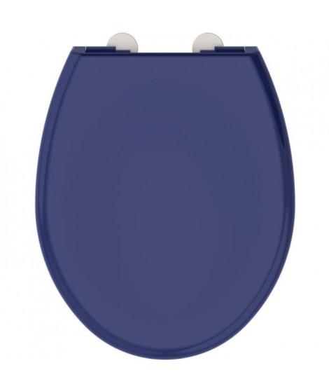 ALLIBERT Abattant de toilette Boreo - Bleu nuit brillant