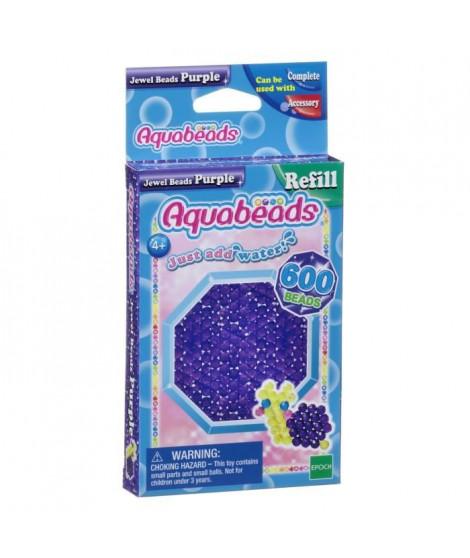 AQUABEADS Perles Multi-Facettes Violettes