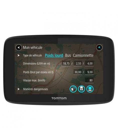 TOMTOM GPS GO Professional 6250 - Écran 6