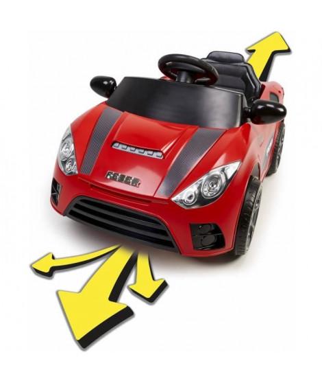 FEBER - Ma vraie voiture 6V - 6 fonctions - rouge