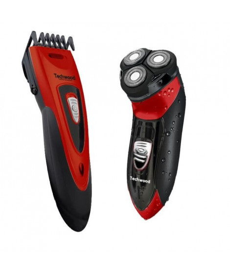 Rasoir et tondeuse rechargeable Techwood TCO-2555