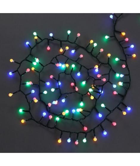 Gurilande de Noël lumineuse intérieure Cerise Vert en PVC