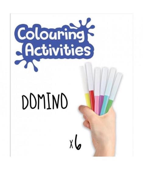 EDUCA - malette domino des animaux a colorier