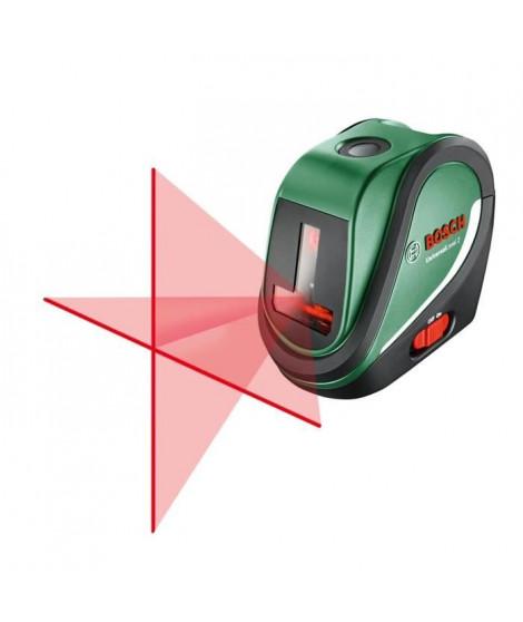 BOSCH Laser lignes UniversalLevel 2 Set avec trépied 1,1 m - 10 m