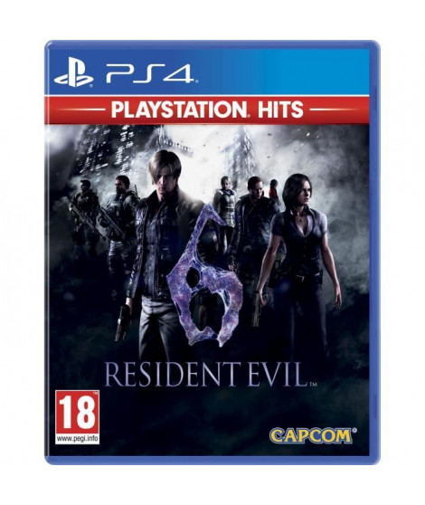 Resident Evil 6 PlayStation Hits Jeu PS4