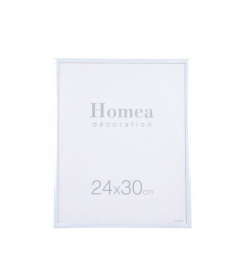 HOMEA Cadre photo Harmonie 24x30 cm Blanc