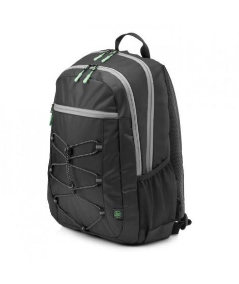 HP Sac a dos pour ordinateur portable Active Backpack - 15.6 - Noir et Vert menthe