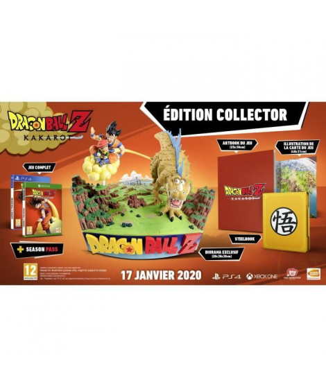DRAGON BALL Z : KAKAROT Collector Jeu PS4