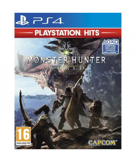Monster Hunter World PlayStation Hits Jeu PS4