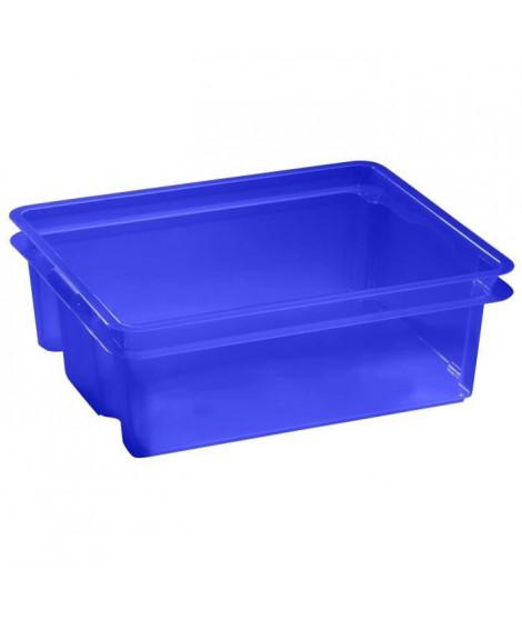 ALLIBERT Boîte de rangement transparent Crownest - Empilable - 17 L
