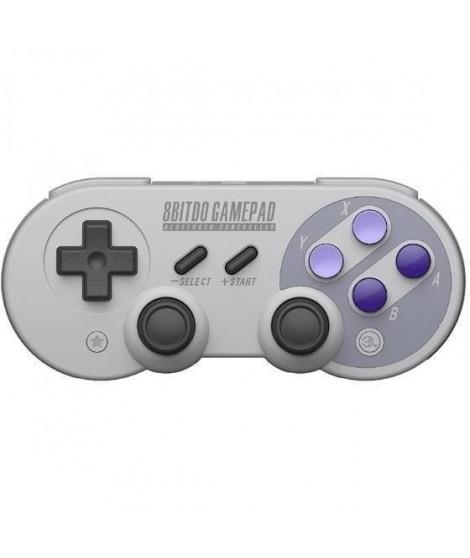 Manette Gamepad bluetooth creme 8Bitdo SN30 Pro G pour Switch
