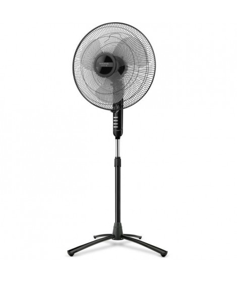 Ventilateur sur pied noir diam. 40 cm