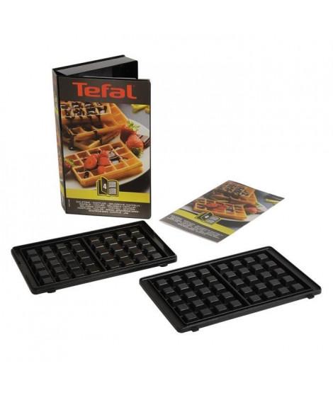 TEFAL Accessoires XA800412 Lot de 2 plaques Gaufres Snack Collection