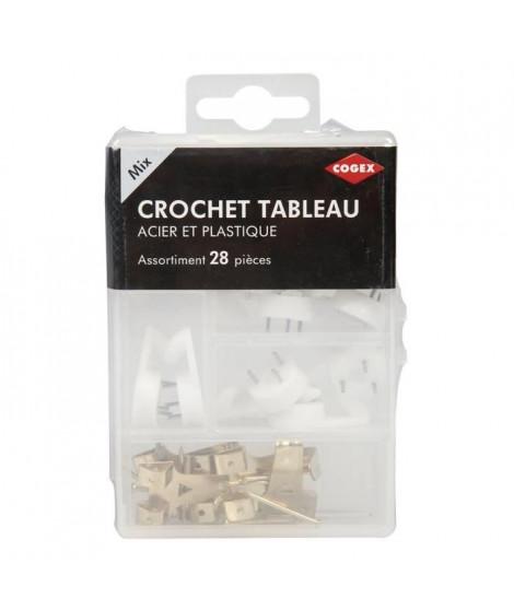COGEX Crochet tableau - 28 pcs