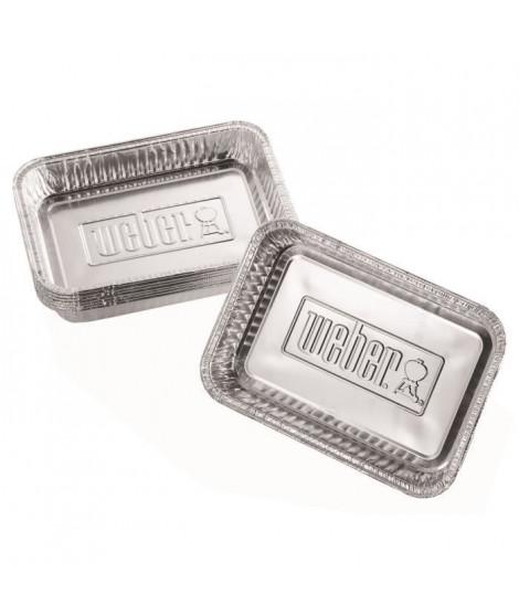 WEBER Petites barquettes en aluminium - 10 pieces