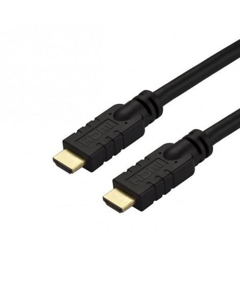 StarTech.com Câble HDMI haute vitesse 4K 60Hz de 10 m - Actif - CL2 (HD2MM10MA)