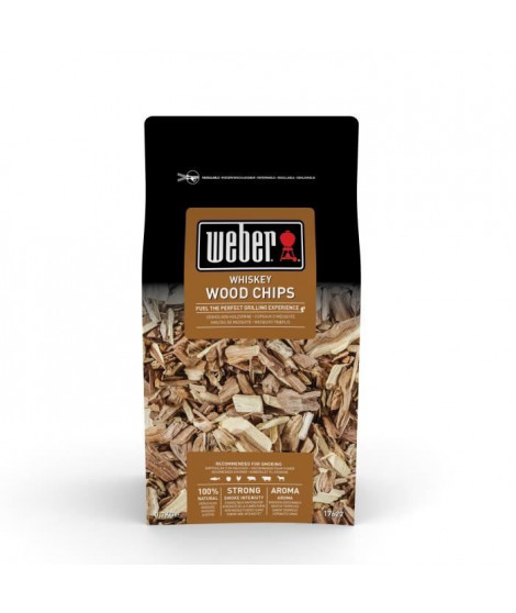 WEBER Boîte de bois de fumage Whisky