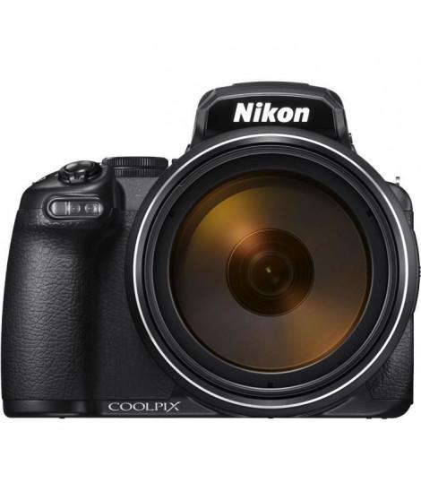NIKON Bridge COOLPIX P1000 - 16 Mp CMOS - 125x (24 a 3000 mm) - TFT 3,2 orientable - viseur OLED 2 359 000 pixels - 4K UHD