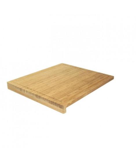 Planche a découper avec rebords Ambiance nature 52x46x1 cm naturel