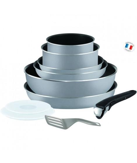 TEFAL INGENIO ESSENTIAL Batterie de cuisine 10 pieces L2149602 16-18-20-22-26cm Tous feux sauf induction