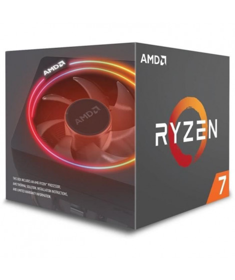 AMD Processeur Ryzen 7 2700X - ventirad Wraith Prism - YD270XBGAFBOX