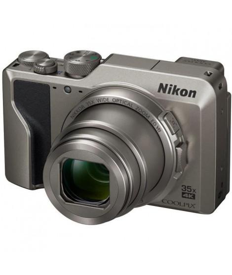 NIKON COOLPIX A1000 Appareil photo compact 16Mp CMOS 35x, 3.0 1036k Tilt TP, 4k, EVF - Argent