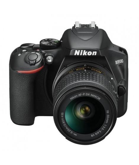 NIKON D3500 Appareil photo Reflex + Objectif AF-P DX 18-55 VR - 24.2Mp DX, vidéo FullHD