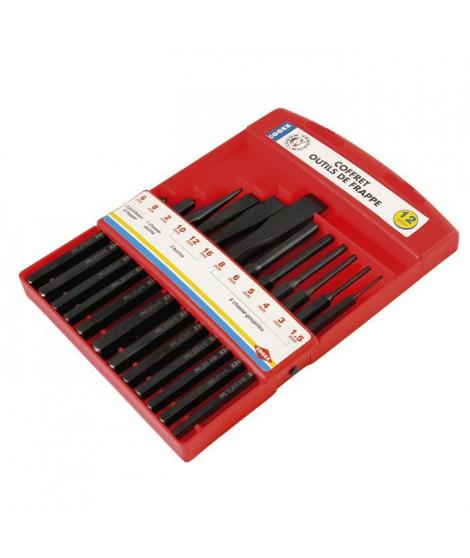 COGEX Coffret de 12 outils de frappe
