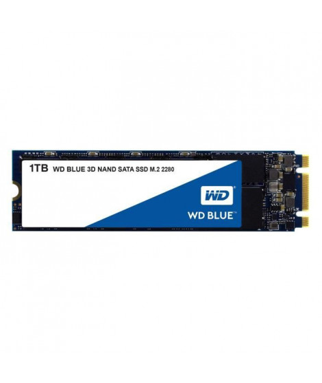 WD Disque dur Blue™ SSD - 3D Nand - Format M.2/2280 - 1To